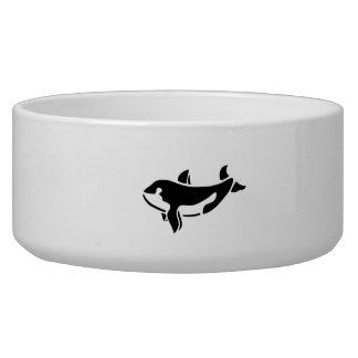 Silueta de la ballena de la orca
