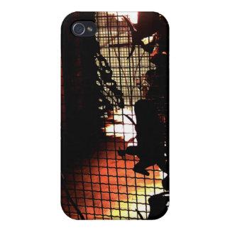 silueta de la chimenea iPhone 4/4S carcasa