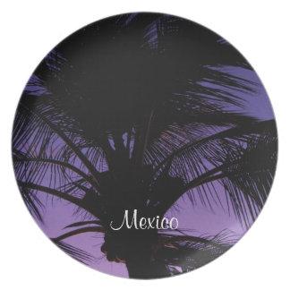 Silueta de la fronda de la palma; Recuerdo de Plato