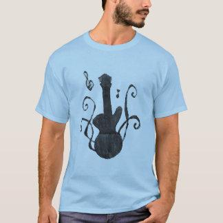Silueta de la guitarra playera