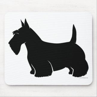 Silueta de la obra clásica de Terrier del escocés Tapetes De Ratones