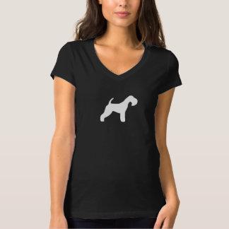 Silueta de Lakeland Terrier Playera