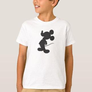 Silueta de Mickey Mouse Playera
