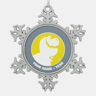 Silueta de Nash Adorno De Peltre En Forma De Copo De Nieve