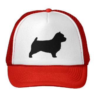Silueta de Norwich Terrier Gorro De Camionero