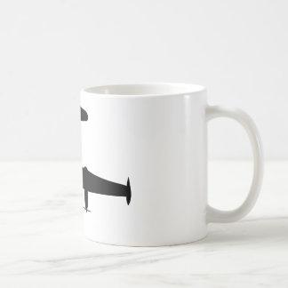 Silueta de P2V Neptuno Taza De Café