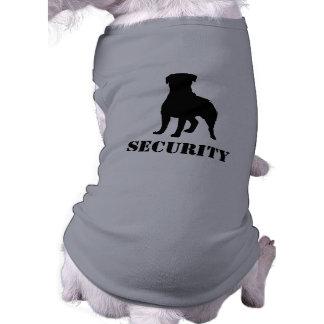 Silueta de Rottweiler con el texto Camisetas De Mascota