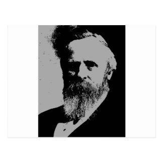 Silueta de Rutherford B. Hayes Tarjetas Postales