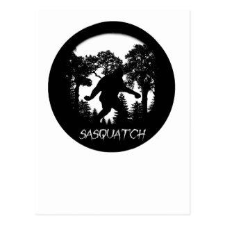 Silueta de Sasquatch Postal