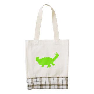 Silueta de Scolosaurus (verde)
