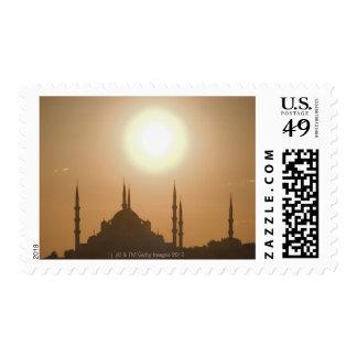 Silueta de Suleymaniye Turquía, Estambul Sellos