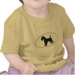 Silueta de Terrier irlandés Camiseta