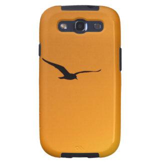 Silueta de una caja de la galaxia S de Samsung del Galaxy S3 Carcasa