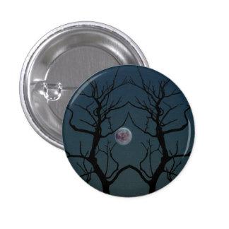 Silueta del árbol del claro de luna pins