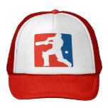 silueta del bateo del bateador del grillo gorras