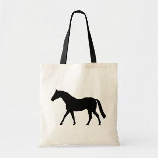 Silueta del caballo bolsa
