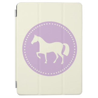 Silueta del caballo cubierta de iPad air