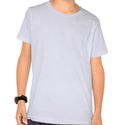 Silueta del centro campo del béisbol camisetas