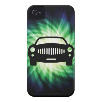 Silueta del coche; Fresco Case-Mate iPhone 4 Cobertura
