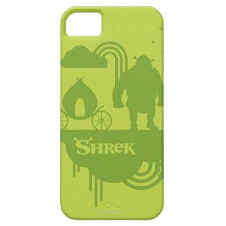 Silueta del cuento de hadas de Shrek Funda Para iPhone 5 Barely There