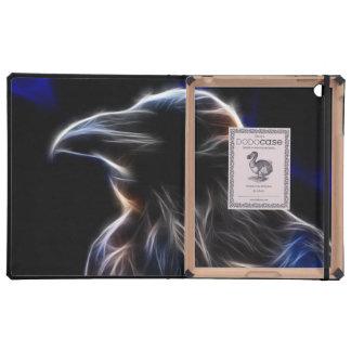 Silueta del cuervo iPad carcasa