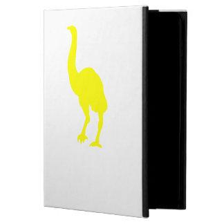Silueta del Dinornis (amarillo)