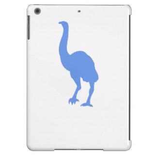 Silueta del Dinornis (azul) Funda Para iPad Air