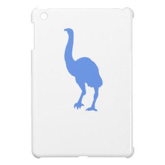 Silueta del Dinornis (azul)