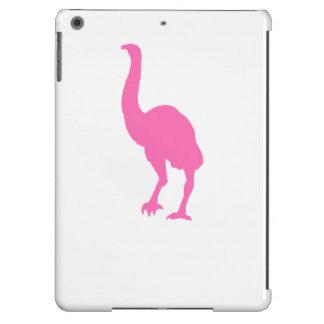 Silueta del Dinornis (rosa) Funda Para iPad Air