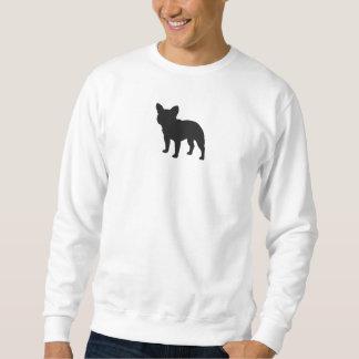 Silueta del dogo francés suéter