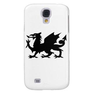 Silueta del dragón Galés