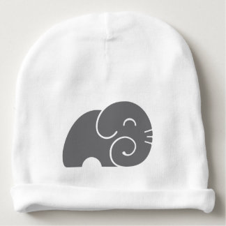 Silueta del elefante gorrito para bebe