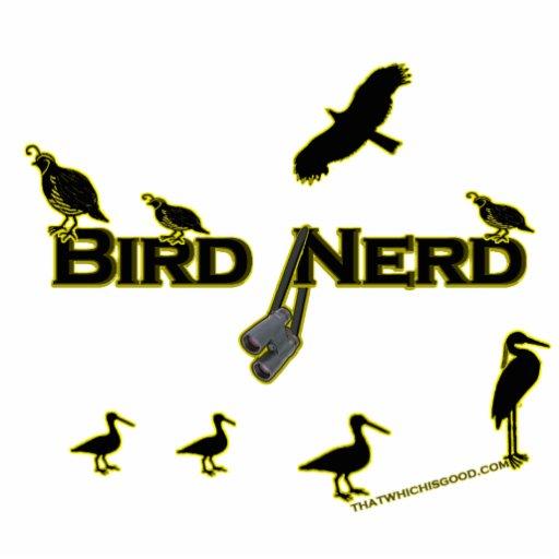 Silueta del empollón del pájaro escultura fotográfica