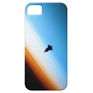 Silueta del esfuerzo del transbordador espacial iPhone 5 Case-Mate carcasas