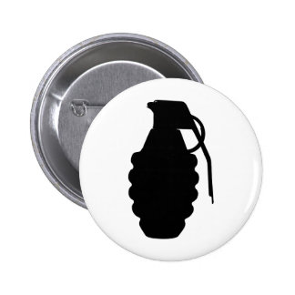 Silueta del esquema de la granada de mano pins
