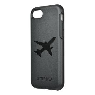 Silueta del jet funda OtterBox symmetry para iPhone 7