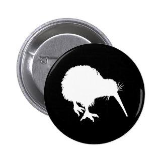 Silueta del kiwi pin