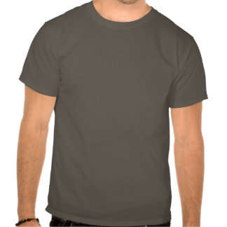 Silueta del pastor alemán camisetas