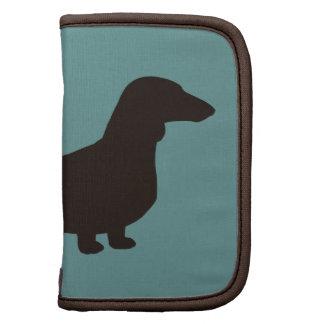 Silueta del perro del Dachshund (Doxie de pelo cor Planificadores