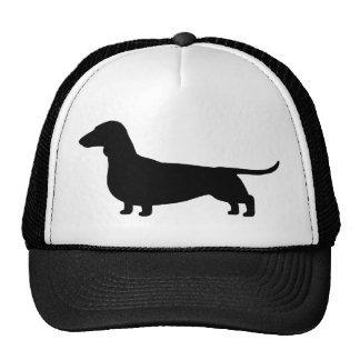 Silueta del perro del Dachshund Gorra