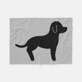 Silueta del perro negro