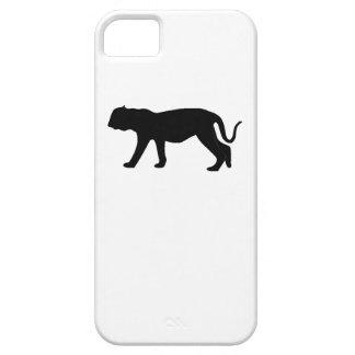 Silueta del puma iPhone 5 coberturas