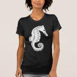 Silueta del Seahorse Camiseta