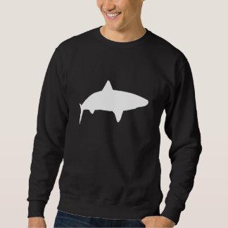 Silueta del tiburón de tigre jersey