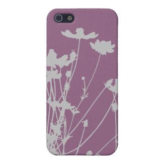 Silueta del Wildflower iPhone 5 Fundas