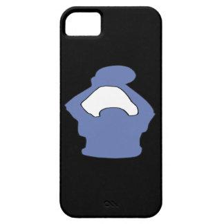 Silueta iPhone 5 Funda