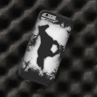 silueta galopante del caballo de la funda para iPhone 6 tough