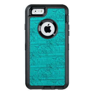 Silueta grabada al agua fuerte trullo de la funda otterbox para iPhone 6/6s