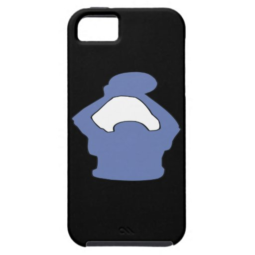 Silueta iPhone 5 Carcasas