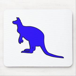 Silueta marsupial de Roo del canguro australiano s Tapete De Raton